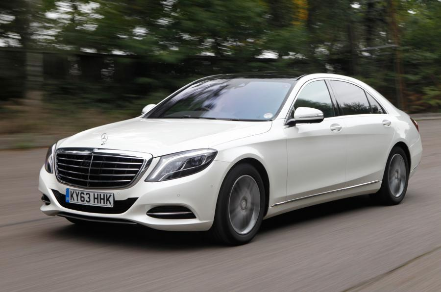 Mercedes S Class from £300 wedding car hire